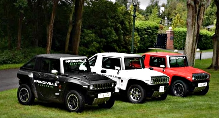 Prindiville Launches Electric Hummer - UK's First Customised EV ...