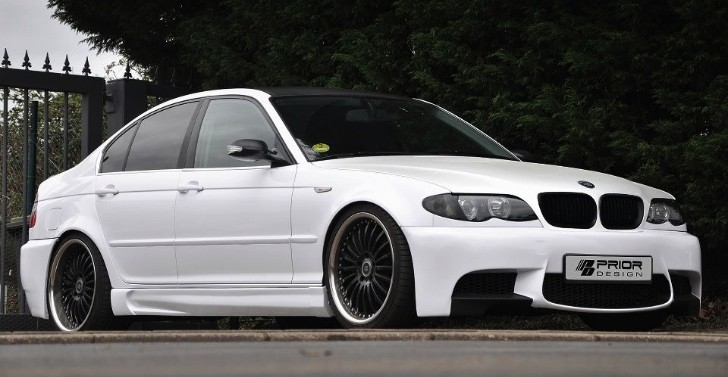 Prior Design Dresses BMW E46 as E90 M3