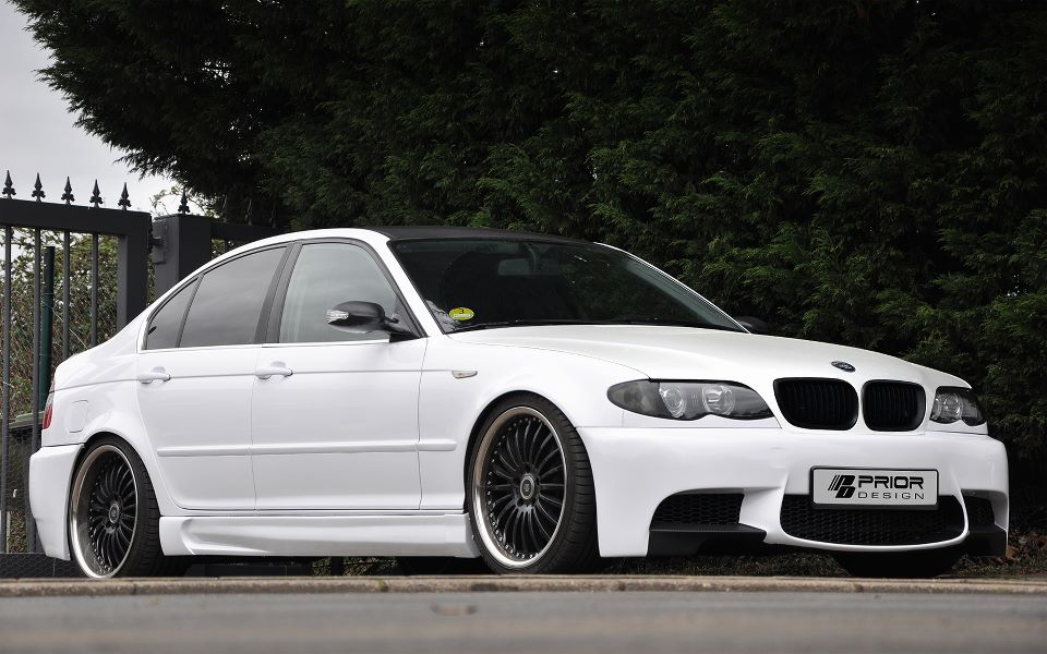 Prior Design Dresses BMW E46 as E90 M3  autoevoluti