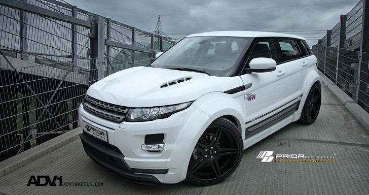 Prior Design Reveals Range Rover Evoque Wide Body Kit [Photo Gallery]