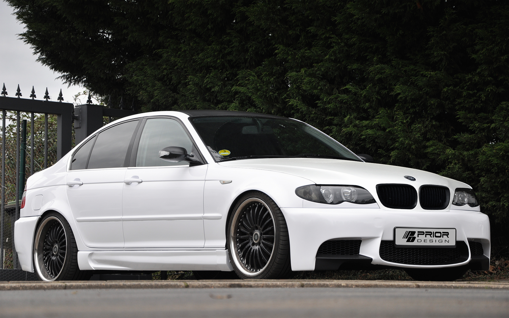 prior design 39 s kit brings bmw e90 m3 bumpers to e46 sedans. Black Bedroom Furniture Sets. Home Design Ideas