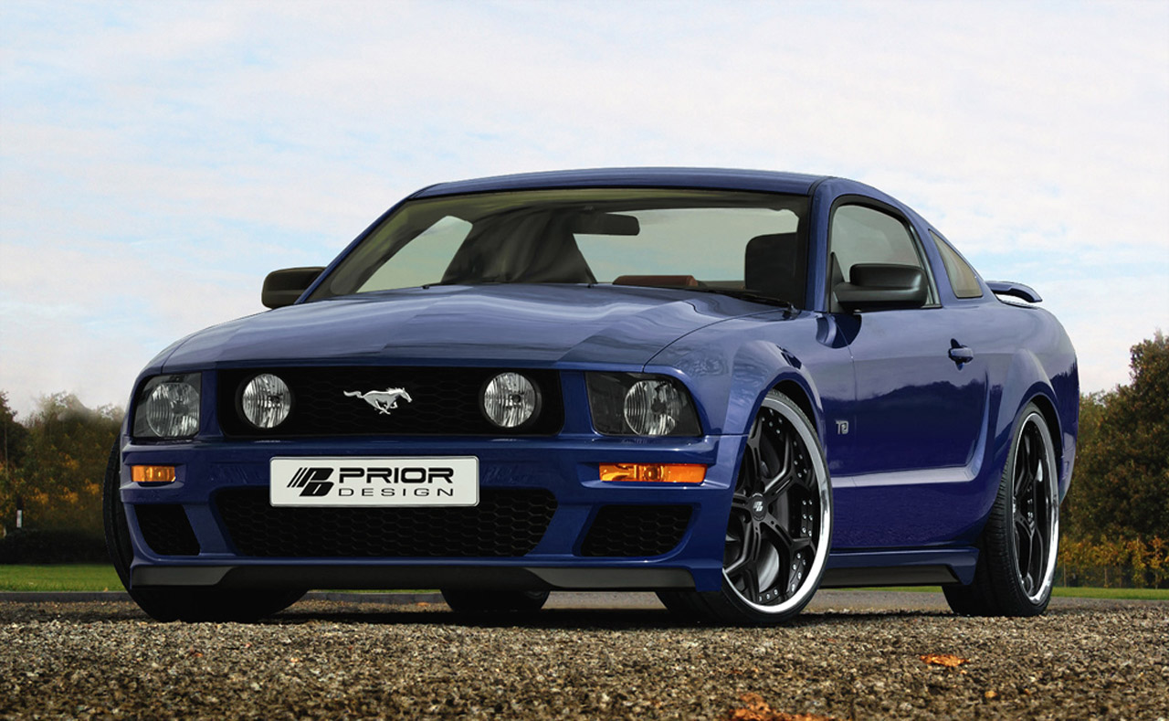 Prior Design Tunes The 5th Generation Ford Mustang