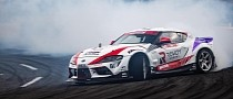 Pro Drifter Puts His Dad Behind the Wheel of 800 HP GR Supra, Guess What Happens