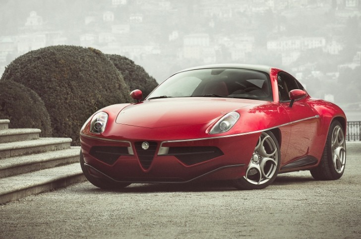 Production Alfa Romeo 8C-Based Disco Volante Shows Up in Geneva [Photo Gallery]