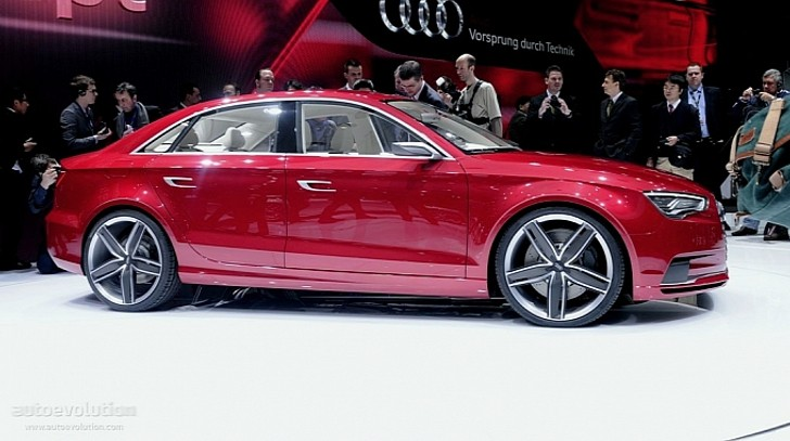 Production Audi A3 Sedan Coming to 2012 Geneva Motor Show