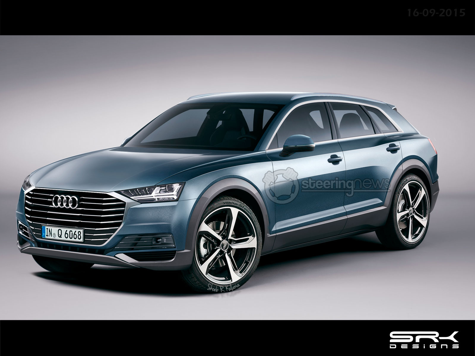 Production Audi Q6 Rendered Based on the e-tron quattro ...