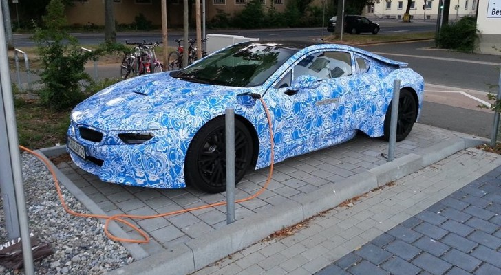 Production BMW i8 Coming at Frankfurt