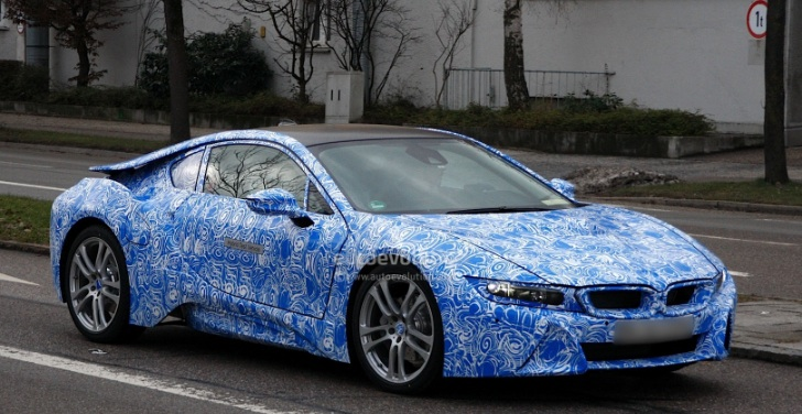 Production BMW i8 Head for Frankfurt Debut