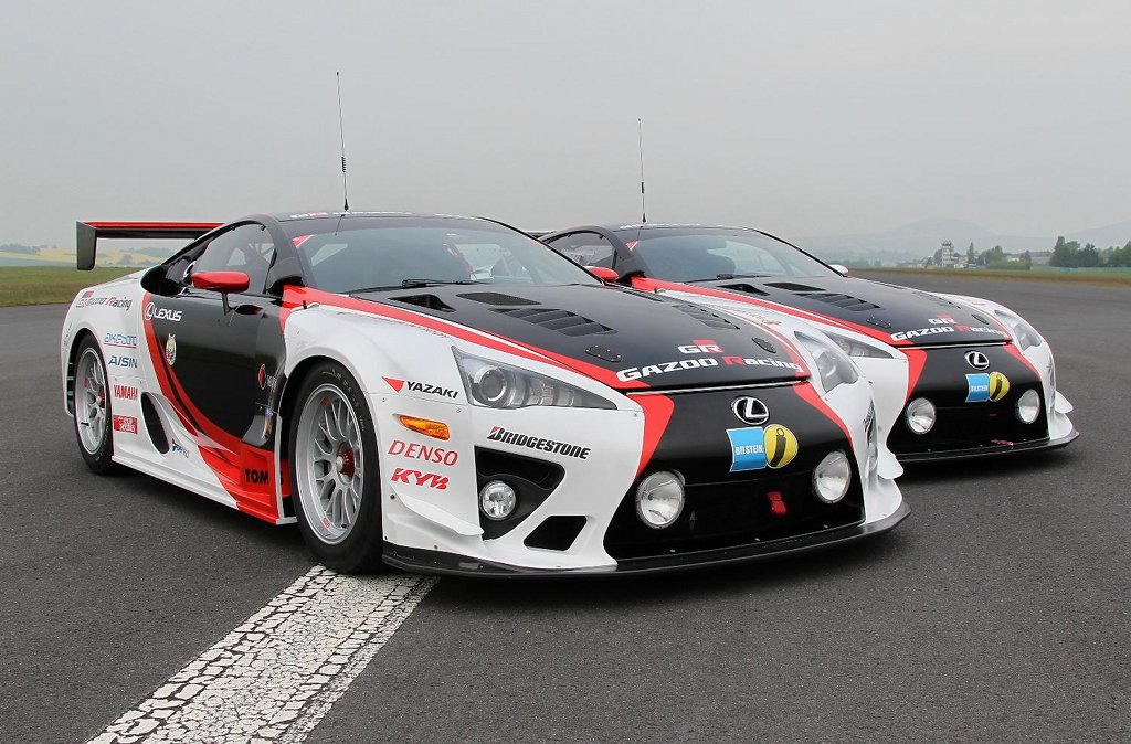production derived lexus lfa preparing for nurburgring 24h race autoevolution. Black Bedroom Furniture Sets. Home Design Ideas