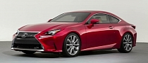 Production Lexus RC Might Look Different