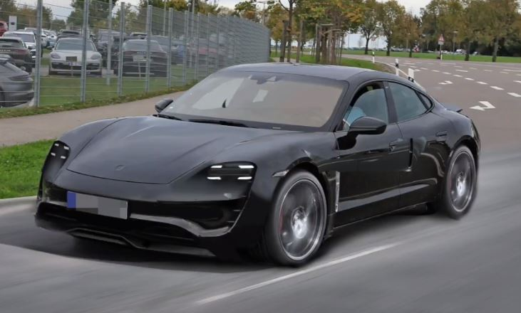 Production Porsche Mission E Rendered Based On Spyshots Looks Spot On Autoevolution