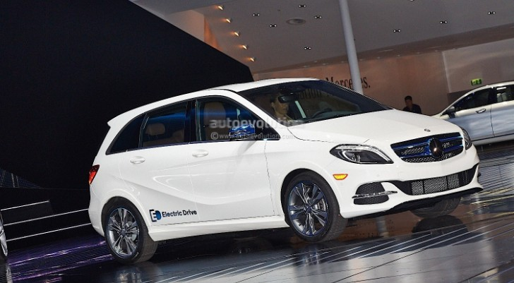 Production-Ready Mercedes-Benz B-Class Electric Drive [Video][Photo Gallery]