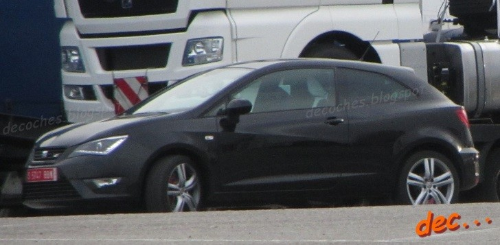 Production SEAT Ibiza Cupra Facelift Spotted