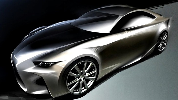Production Version of the Lexus LF-CC Coming, Possibly Alongside Evoque Rival
