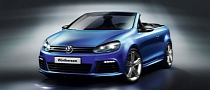 Production Volkswagen Golf R Cabriolet Coming