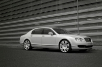 Project Kahn Bentley Flying Spur Pearl White Edition
