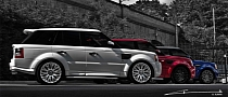 Project Kahn Goes Patriotic With Fourth of July Dedicated Range Rovers
