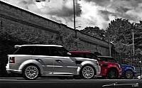 2011 Patriotic Kahn Range Rover Sport and Cosworth