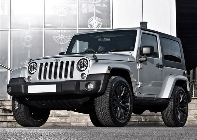Project kahn launches silver jeep wrangler autoevolution for Garage jeep nimes