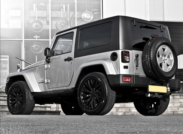 Project Kahn Launches Silver Jeep Wrangler - autoevolution