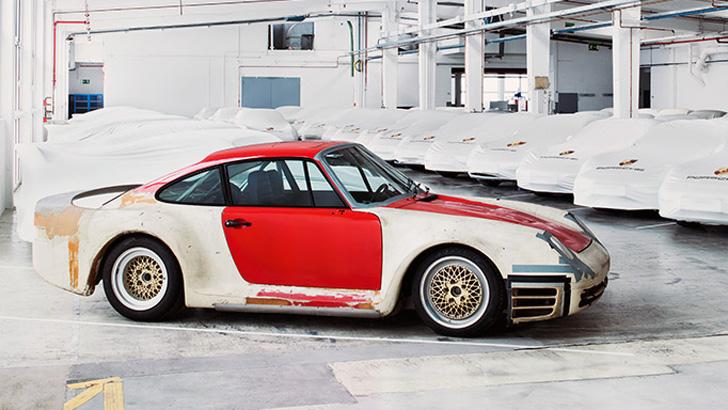 Project Secret Reveals 14 Porsche Prototypes Concept Cars Photo