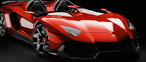 Promo: Lamborghini Aventador J Unica Goes on Crazy Ride [Video]
