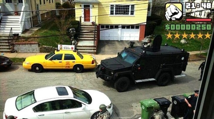 Proof That Grand Theft Auto V Happens in Real Life [Photo Gallery]