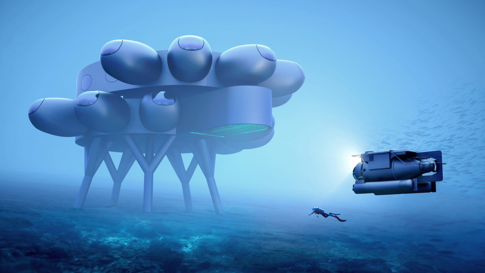 Proteus Is World's Largest Underwater Lab and Habitat, the ISS of ...