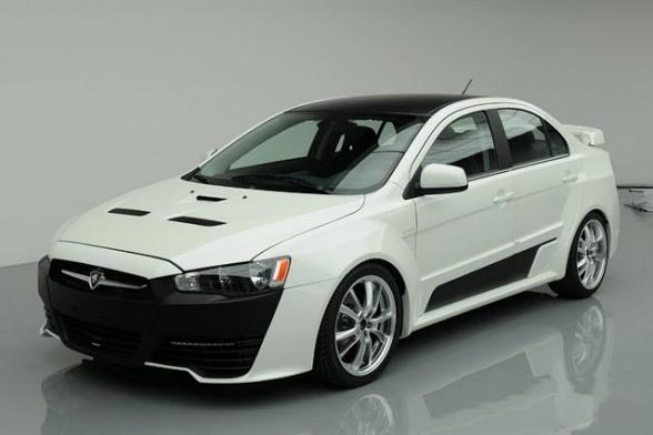 Proton Jebat Concept Is Mitsubishi EVO Look Alike