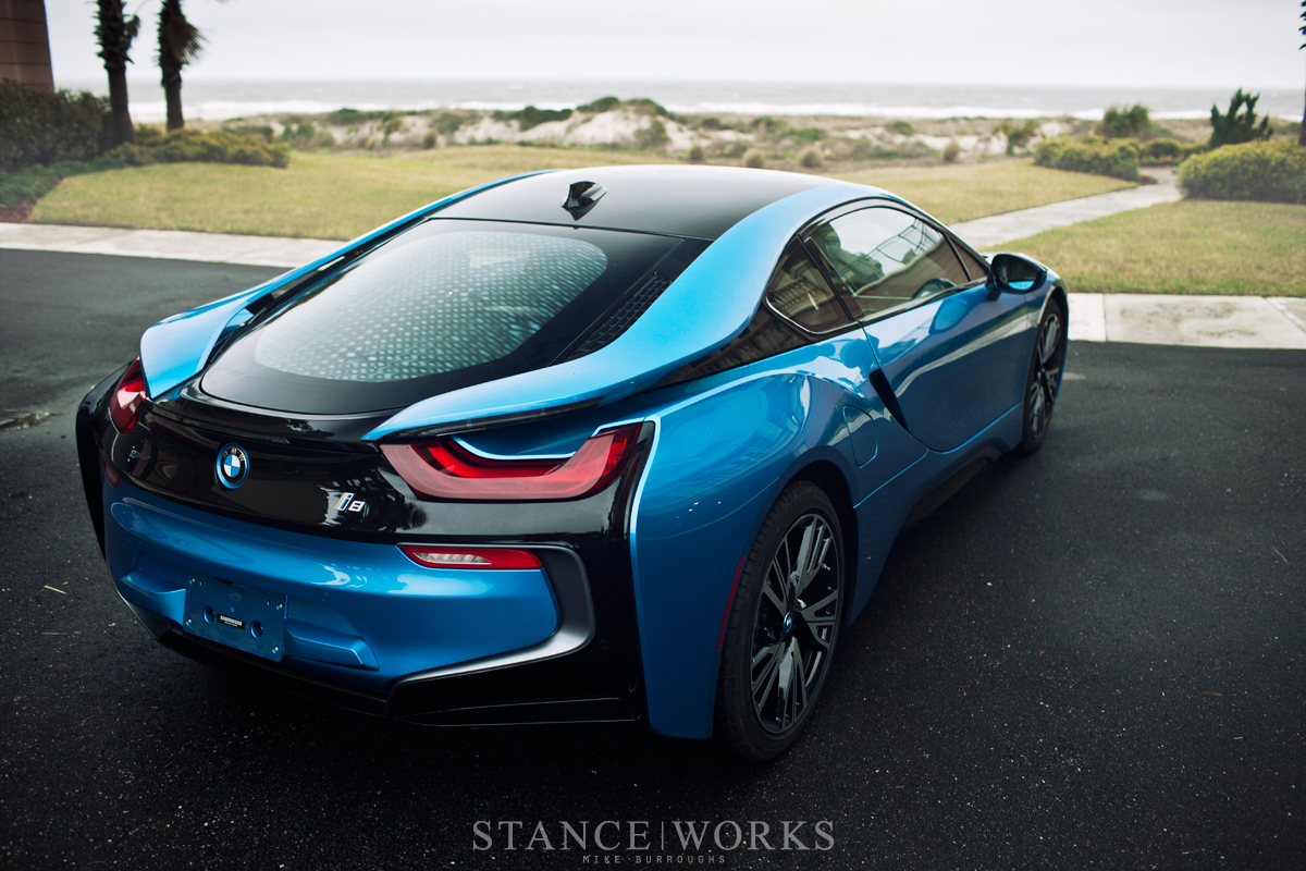 Bmw I8 Black And Blue