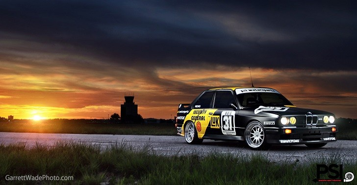 PSI Creates Unique BMW E30 M3 DTM Car Based on a Diecast Model [Photo Gallery]