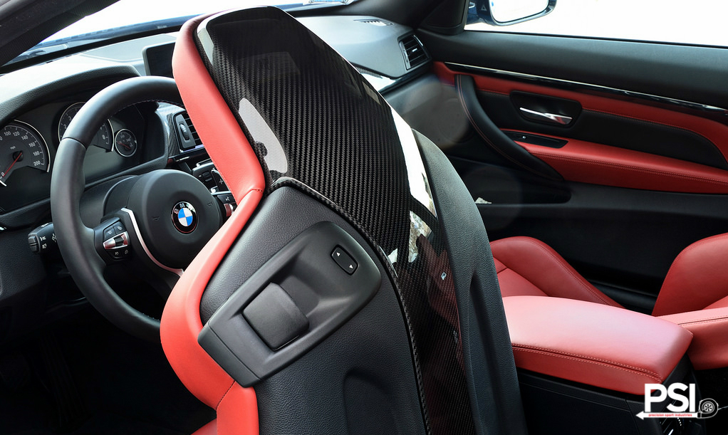 Psi Launches Carbon Fiber Bmw M3 And M4 Seatback Trims