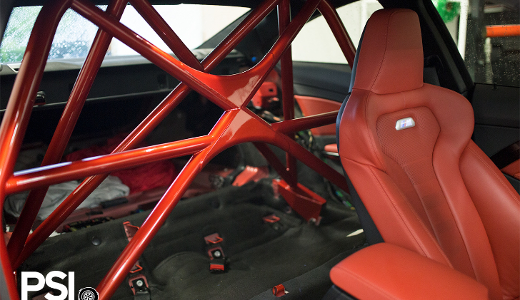 Psi Unveils Custom Roll Bar For Bmw M4 Autoevolution