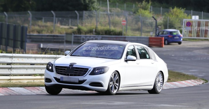 Pullman S-Class Spied on the Nordschleife [Photo Gallery]