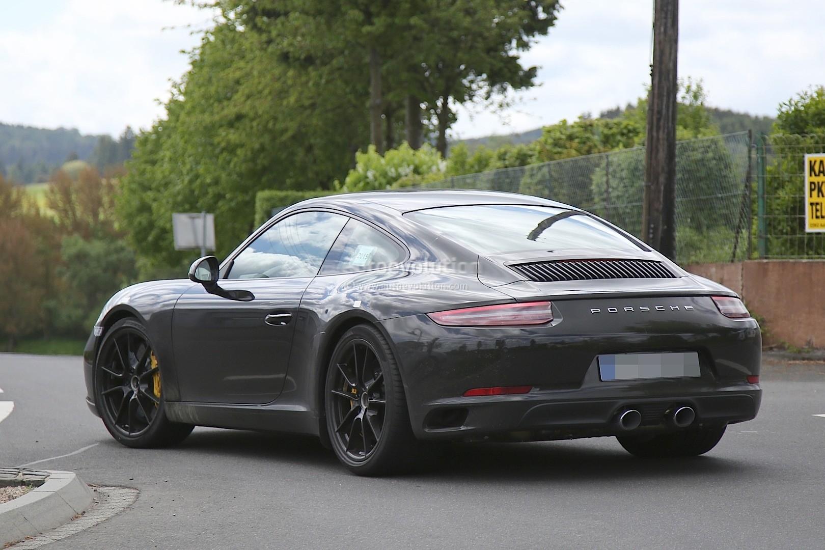2016 Porsche 911 Facelift Rear