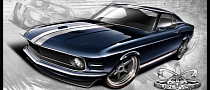 Pure Vision Previews Wicked Ford GT40-Inspired Mustang
