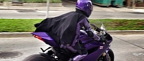 Purple Ducati 1199 Panigale to Star in Kick-Ass 2