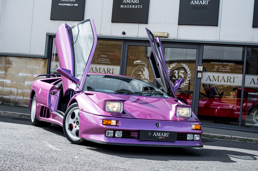 Purple Lamborghini From Cosmic Girl Music Video Listed For Big Money
