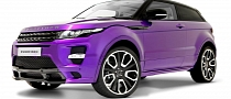 Purple Overfinch Evoque GTS at Goodwood [Photo Gallery]