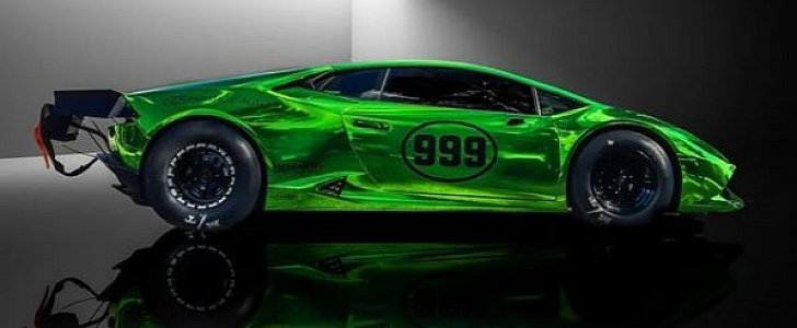 Purpose Built Lamborghini Huracan Twin Turbo Drag Racer Is