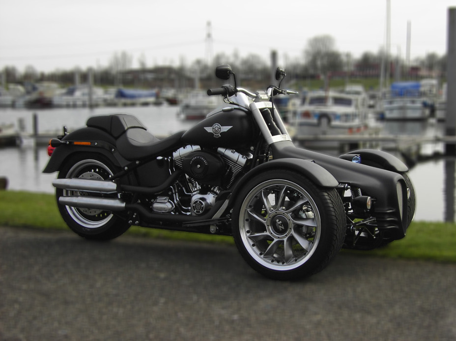 Q Tec Quad And Trike Conversion Kit For Harley Bikes