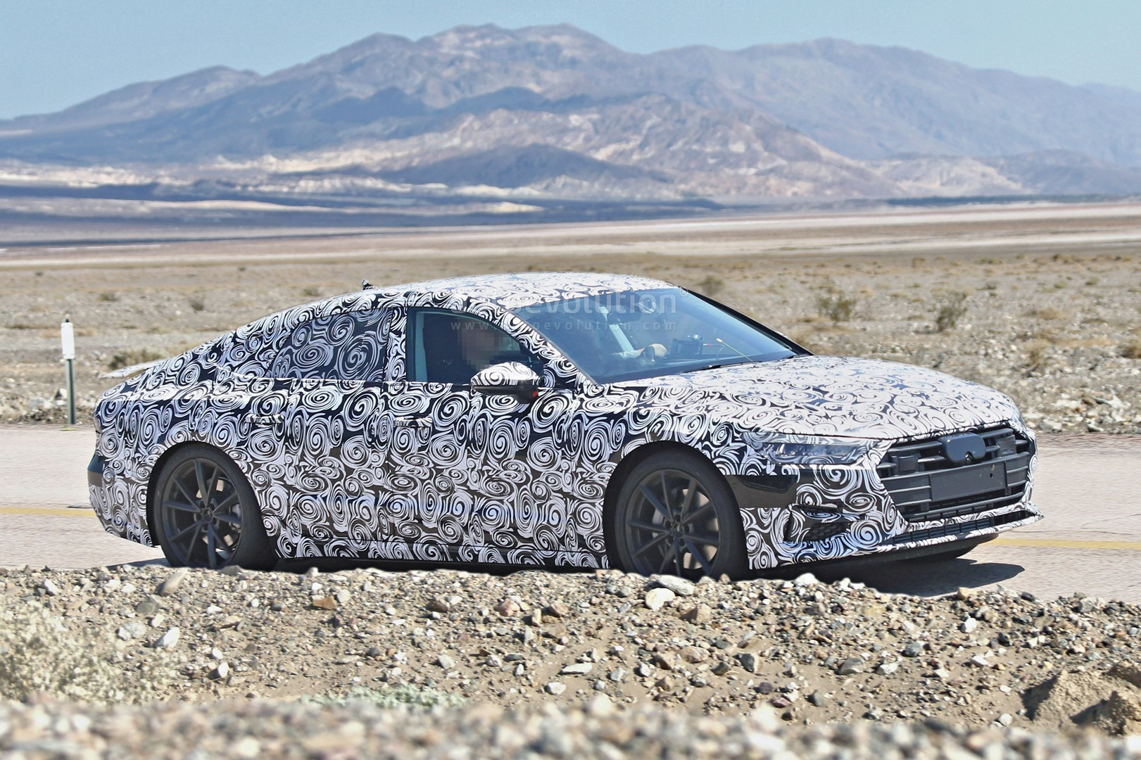 2018 audi electric car. interesting electric 2018 audi a7 detailed spy photos reveal it could be electric or  hydrogenpowered inside audi electric car m