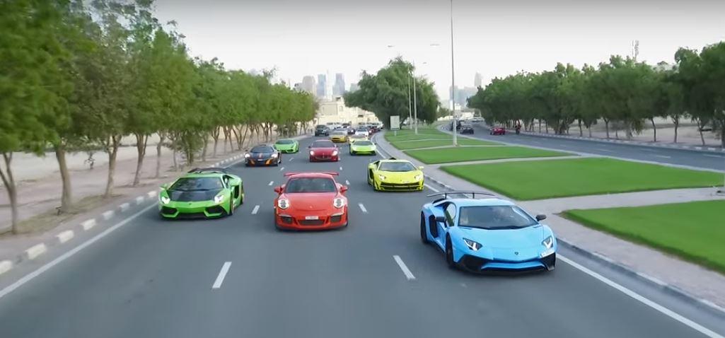 Qatar S Multi Million Dollar Supercar Meet Looks Like A Huge Bag