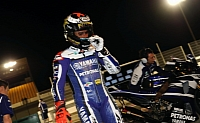 Lorenzo doesn't set sight on Qatar win