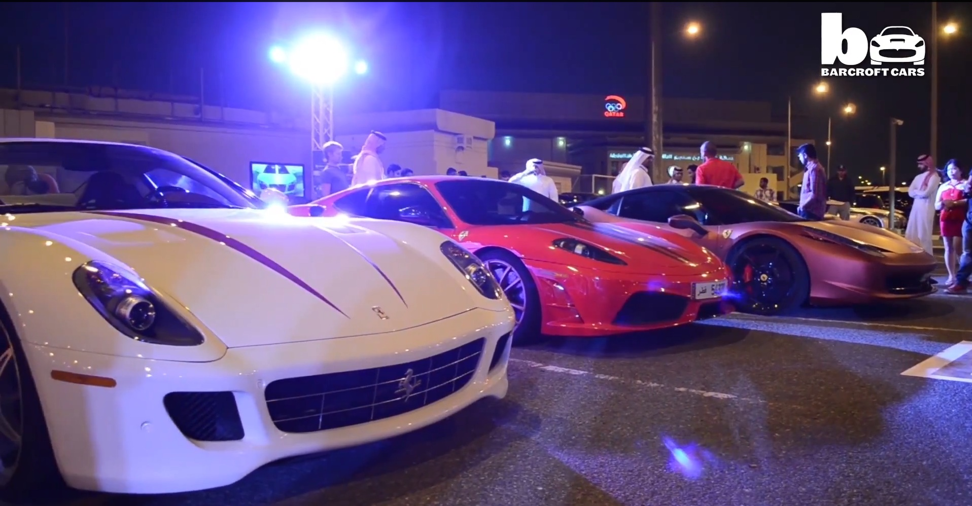 Qatari Youngster Has A Supercar Collection And Organizes Amazing
