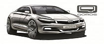 Qoros Shows Off Upcoming Sedan With Design Study Sketches