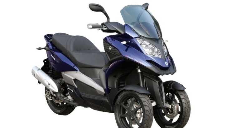 Quadro 350 S 3-Wheel Scooter Now Available, Price Announced [Photo Gallery]