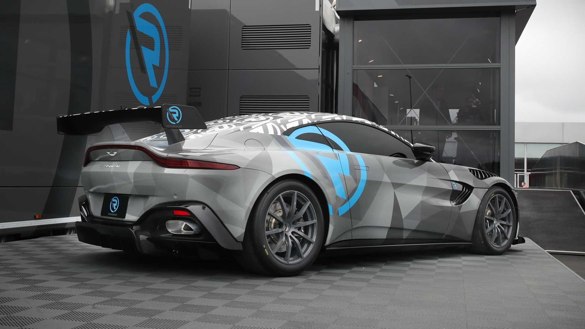 R Motorsport Aston Martin Vantage Cup Scheduled To Start In 2020 Autoevolution