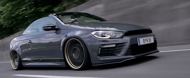 R36-Powered VW Eos with Scirocco Face Cuts Loose ...