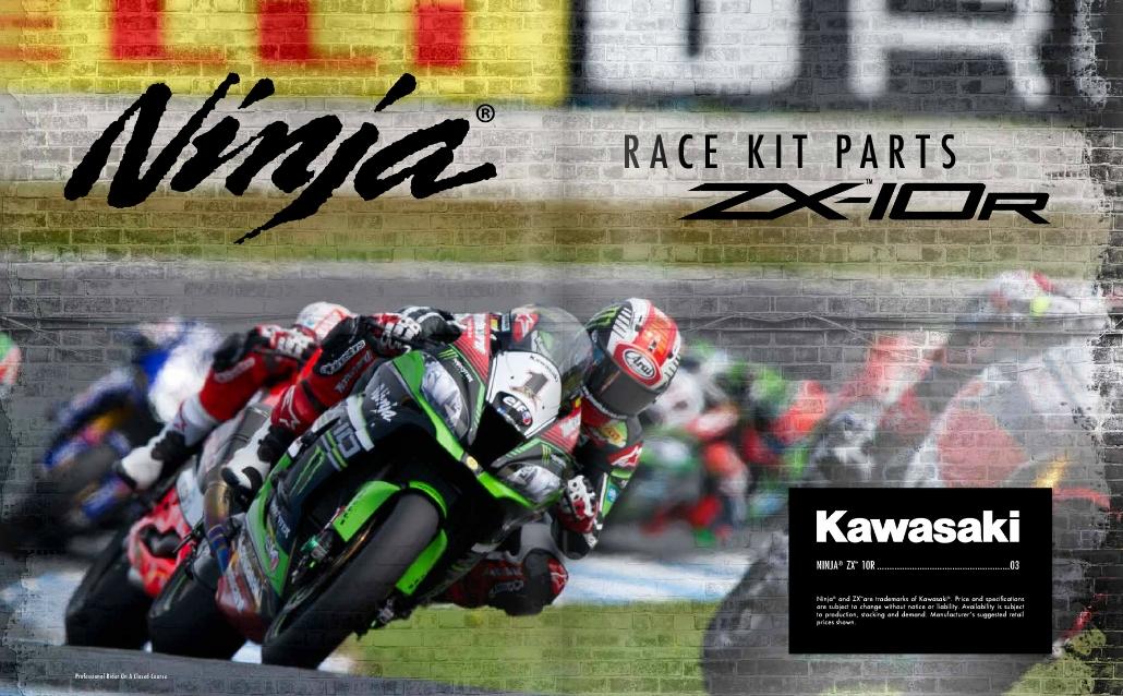 Race Kit Parts For 2016 Kawasaki Ninja Zx 10r Now Available
